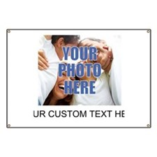 Custom Photo and Text Banner