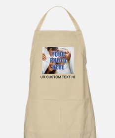 Custom Photo and Text Apron