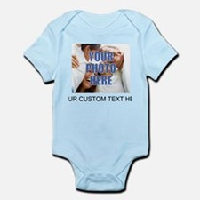 Custom Photo and Text Infant Bodysuit