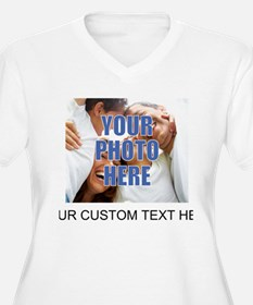 Custom Photo and Text T-Shirt