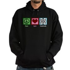Peace Love Crosswords Hoodie