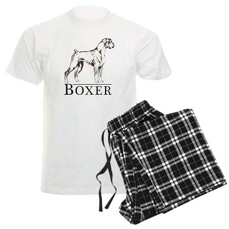 Boxer Breed Type Men's Light Pajamas