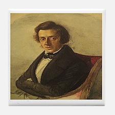 Frederick Chopin Tile Coaster