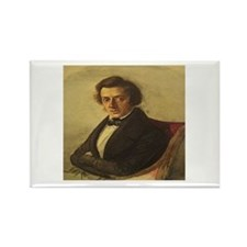 Frederick Chopin Rectangle Magnet