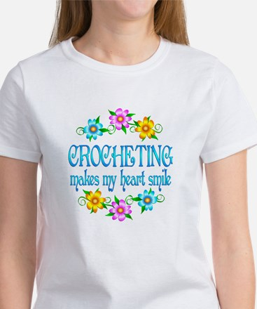 Crocheting Smiles Women's T-Shirt