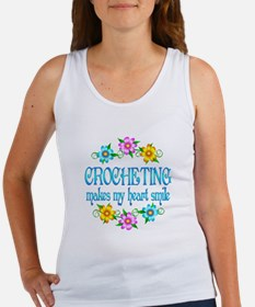 Crocheting Smiles Women's Tank Top