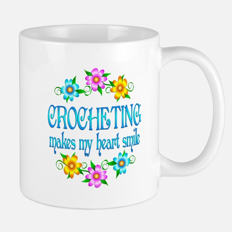 Crocheting Smiles Mug