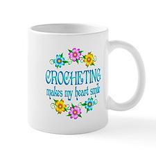 Crocheting Smiles Small Mug