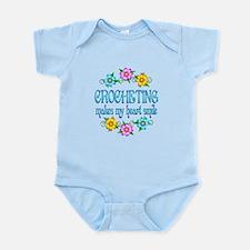 Crocheting Smiles Infant Bodysuit