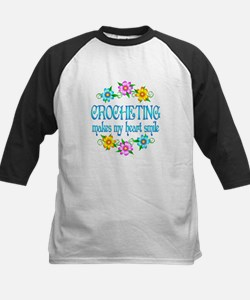 Crocheting Smiles Kids Baseball Jersey