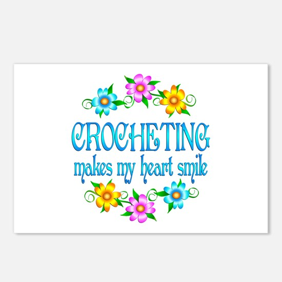 Crocheting Smiles Postcards (Package of 8)
