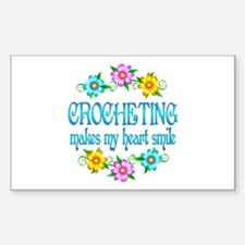 Crocheting Smiles Decal