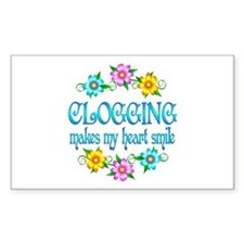 Clogging Smiles Decal