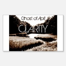 Ghost of April Clarity sticker