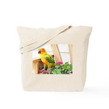 Sun Conure Tote Bag