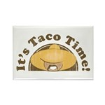 It's Taco Time! Rectangle Magnet (100 pack)