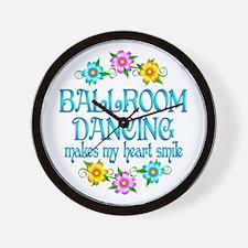 Ballroom Smiles Wall Clock