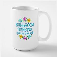 Ballroom Smiles Large Mug