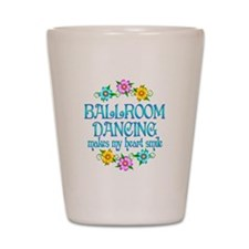 Ballroom Smiles Shot Glass