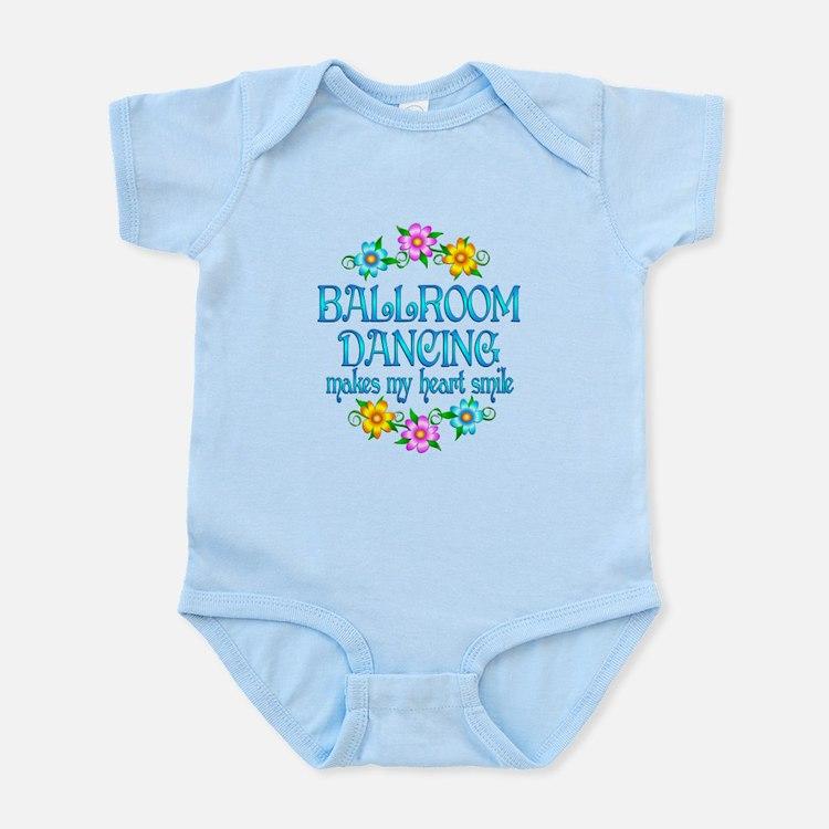 Ballroom Smiles Infant Bodysuit