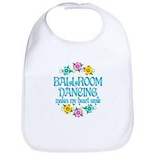 Ballroom Smiles Bib