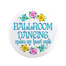 "Ballroom Smiles 3.5"" Button (100 pack)"