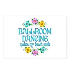 Ballroom Smiles Postcards (Package of 8)