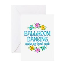 Ballroom Smiles Greeting Card