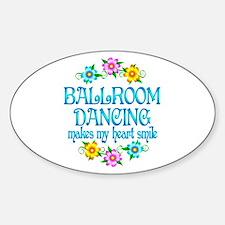 Ballroom Smiles Bumper Stickers