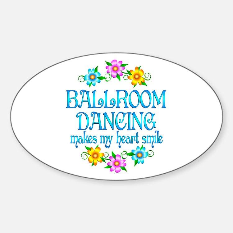 Ballroom Smiles Decal