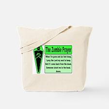 The Zombie Prayer Tote Bag