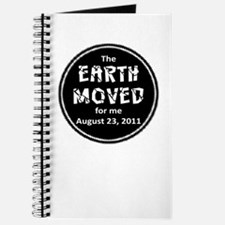 Earth Moved for Me Journal