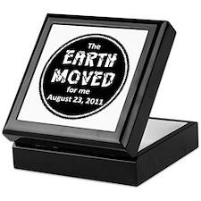 Earth Moved for Me Keepsake Box