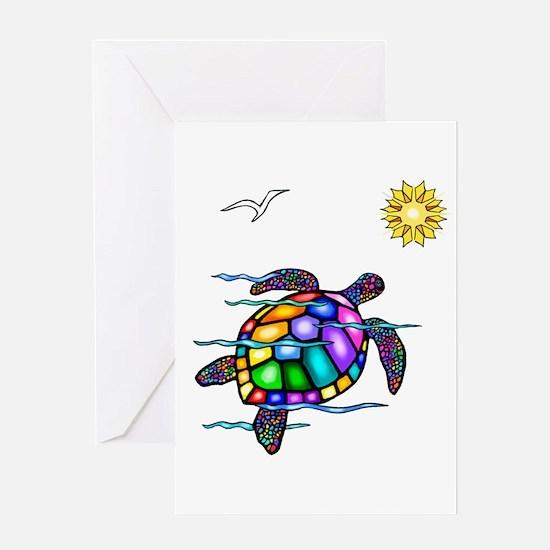 Sea Turtle #1 Greeting Card