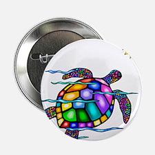 "Sea Turtle #1 2.25"" Button (10 pack)"