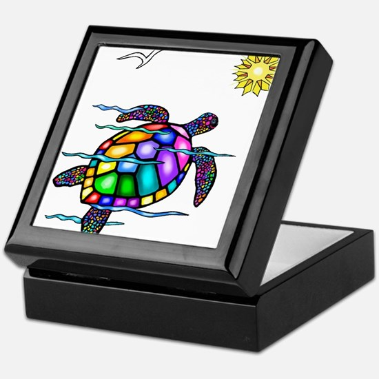Sea Turtle #1 Keepsake Box