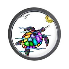 Sea Turtle #1 Wall Clock
