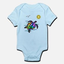 Sea Turtle #1 Infant Bodysuit