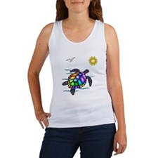 Sea Turtle #1 Women's Tank Top