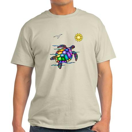 Sea Turtle #1 Light T-Shirt