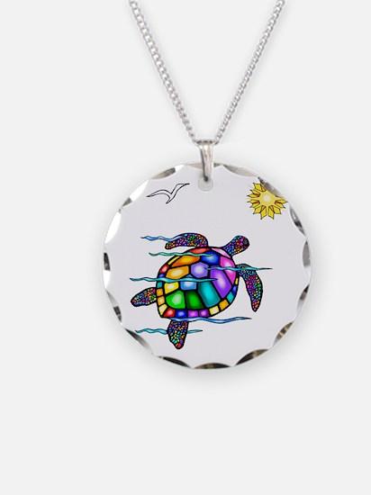 Sea Turtle #1 Necklace