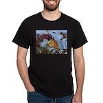 Monarch Butterfly Black T-Shirt