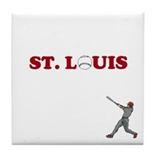 St. Louis Baseball Tile Coaster