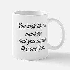 look like a monkey Mug