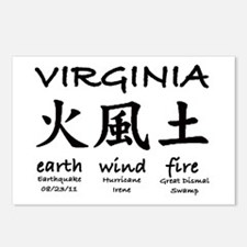 #4 Virginia Earthquake 2011 Postcards (Package of