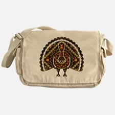 Fall Turkey Messenger Bag