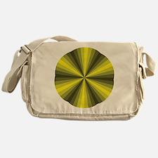 Yellow Illusion Messenger Bag