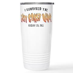 East Coast Earthquake T-Shirt Travel Mug