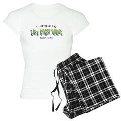 East Coast Earthquake Gifts Pajamas