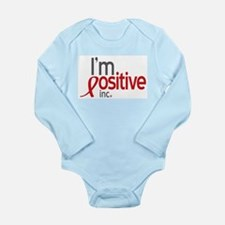 IPI Logo Long Sleeve Infant Bodysuit